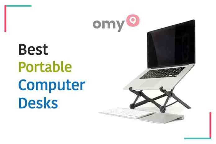 10 Best Portable Computer Desks