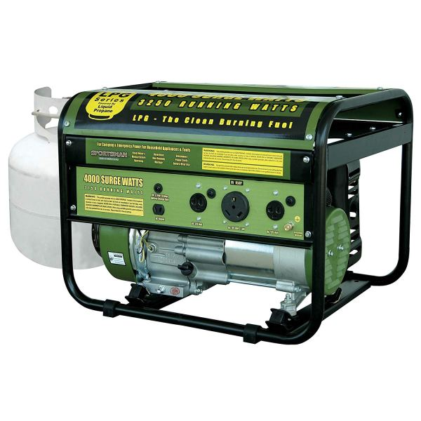 Sportsman Propane Powered Portable Generator
