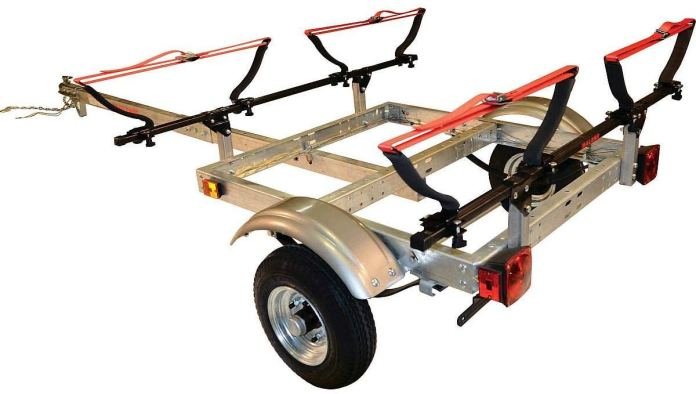 Malone Kayak Trailers Racks