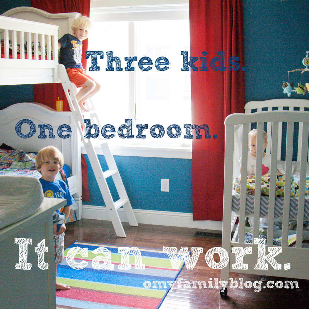 three kids in one bedroom  O My Family  This new moms blog