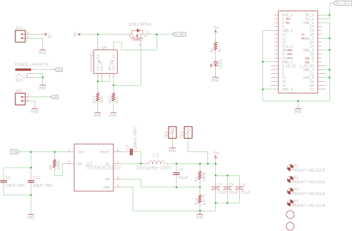 small resolution of so i went back to texas instrument s online power supply design tool webench and found an alternative approach that uses three 22uf ceramic capacitors