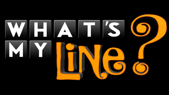 Whats My Line