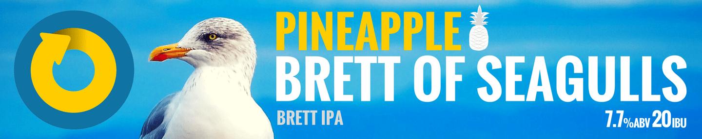 Brett of Seagulls Pineapple Tile