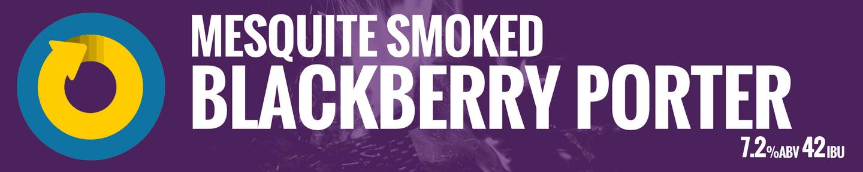 Mesquite Smoked Blackberry Porter Tile