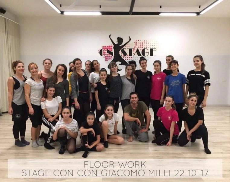 Floor Work con Giacomo Milli 22.10.2017