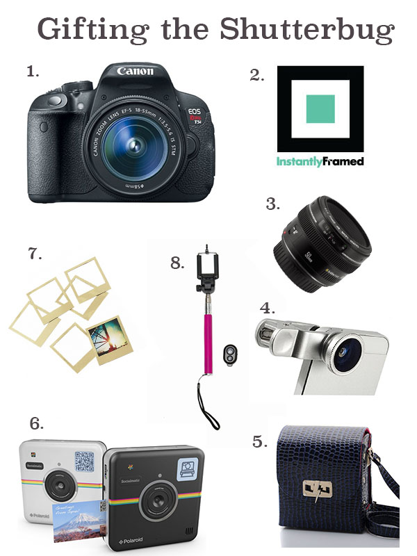 Shutterbug, Gift Guide, Holidays