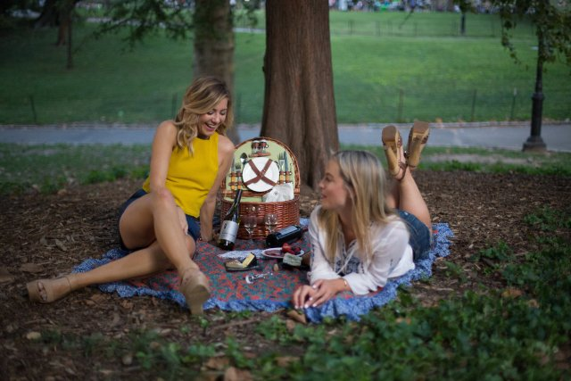 Central Park, Picnic, New York, wine, fashion bloggers, wine and cheese , OOTD, What to wear
