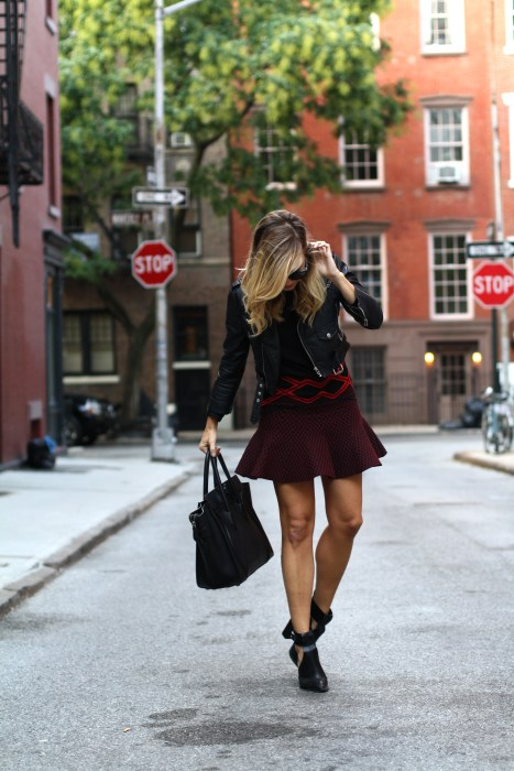 street style, NYC blogger, what i wore, WIW, OOTD, Chanel, Nasty Gal, Ronny Kobo, West village, NYC, balancing act