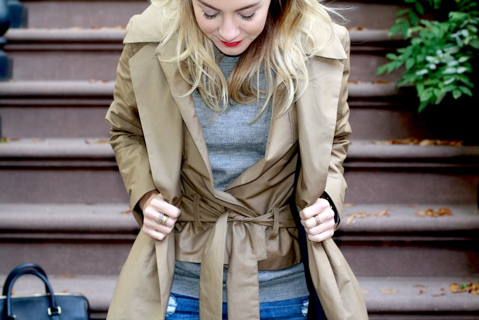 Classics, Timeless, Fashion Blogger, What I wore, Style, West Village, Trench