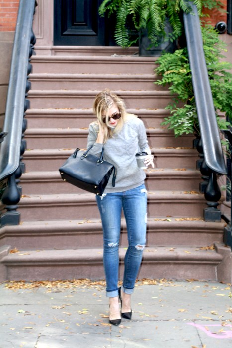 Classics, Timeless, Fashion Blogger, What I wore, Style, West Village, Trench,4