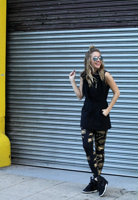 Workout, Fitness, Fashion Blogger, Cynthia Rowley, Athleisure, 2016, 1