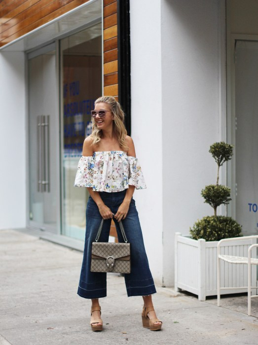 OTS, How to wear, SoHo, proportion, OOTD, Zara, Culottes, Denim, Gucci, Impossibly Imperfect