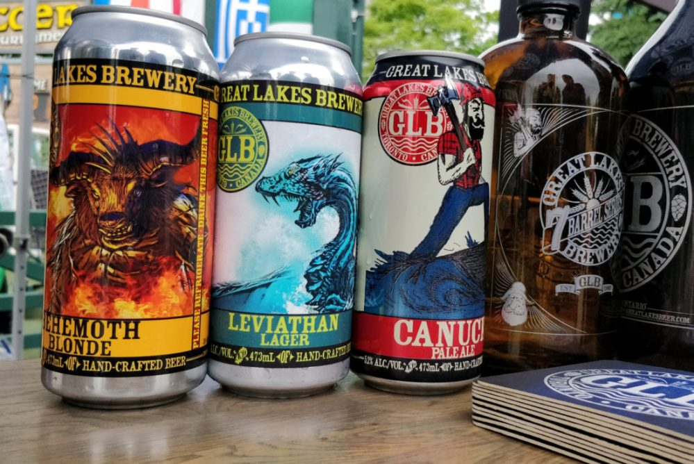 medium resolution of behemoth blonde and leviathan lager are the two showcase beers at canada s wonderland this summer photo david ort