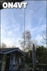 "40m deltaloop and Kelemen 30-40-80m dipole on the ""old"" tower"