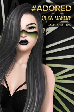 adored-chira-makeup-green