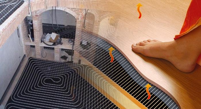 Resultado de imagen de suelo radiante