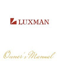 luxman_manual_cover