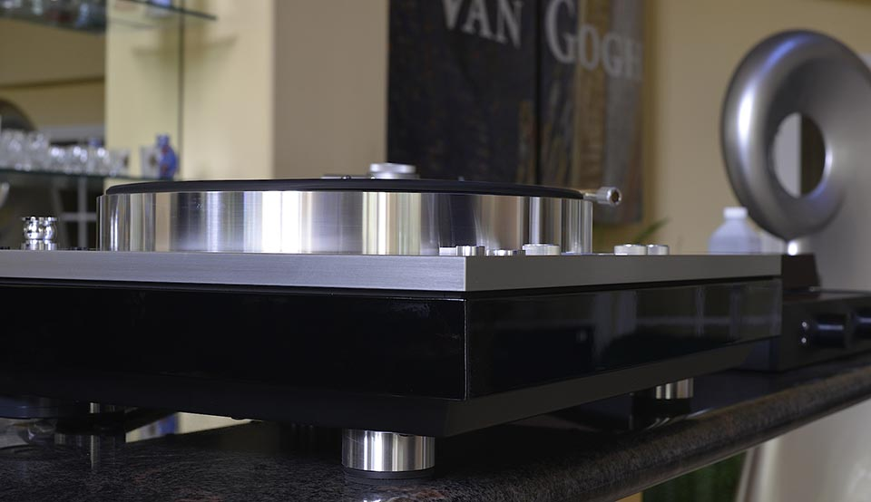 Luxman PD-171 turntable custom finish