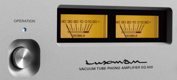 luxman eq-500 phonostage meters