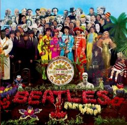 The Beatles Sgt. Peppers Lonely Hearts Club Band circa 1967