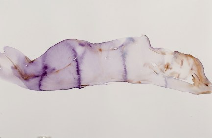 """""""L'Amour, Comp 01"""" original water color, 24"""" x 18"""" by Kim McCarty"""