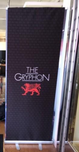 Gryphon Door Banner