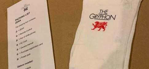 Gryphon Zena packing list