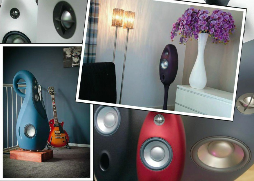 Special matte color finishes of the Vivid Giya and Oval series available upon request