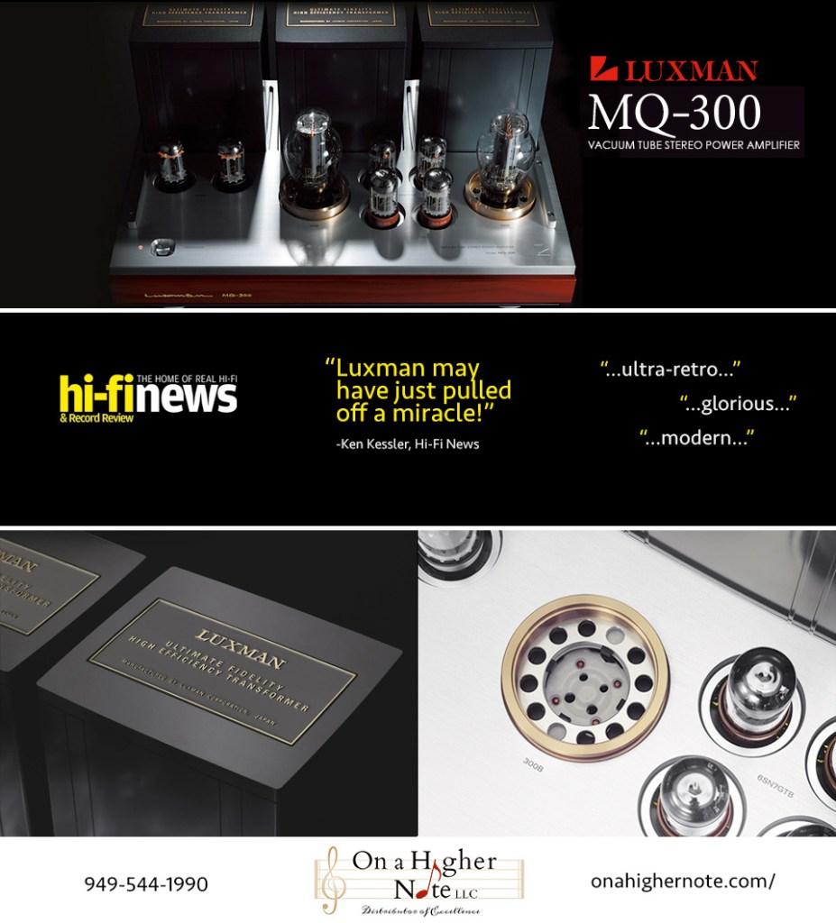 Luxman MQ-300 review by Hi-Fi News