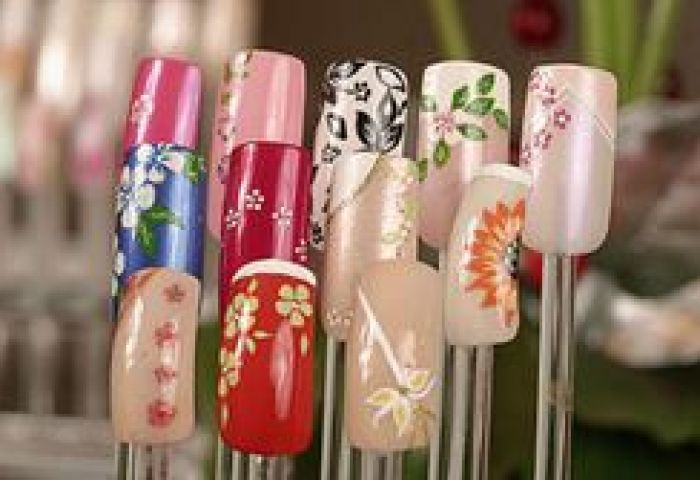 Exhibidor O Display Para Decoraciones De Uñas Onails