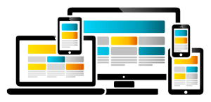 Website layout image