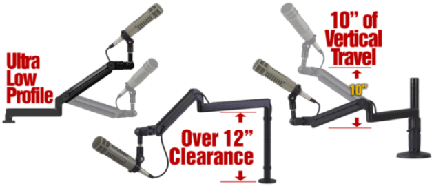 O.C. White ProBoom Ultima mic booms product image