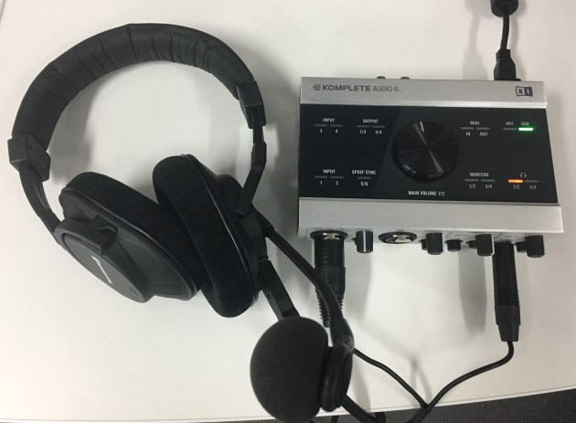 Komplete Audio 6 & Beyer headset
