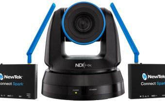 NewTek NDI PTZ Camera & Connect Spark product image