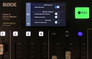 RODECaster Pro mix minus settings