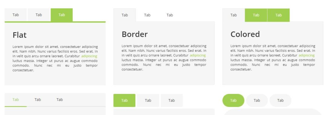 Bootstrap Responsive Tabs Collection