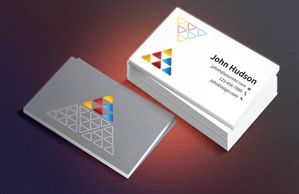 Business Card PSD Template & Mockup