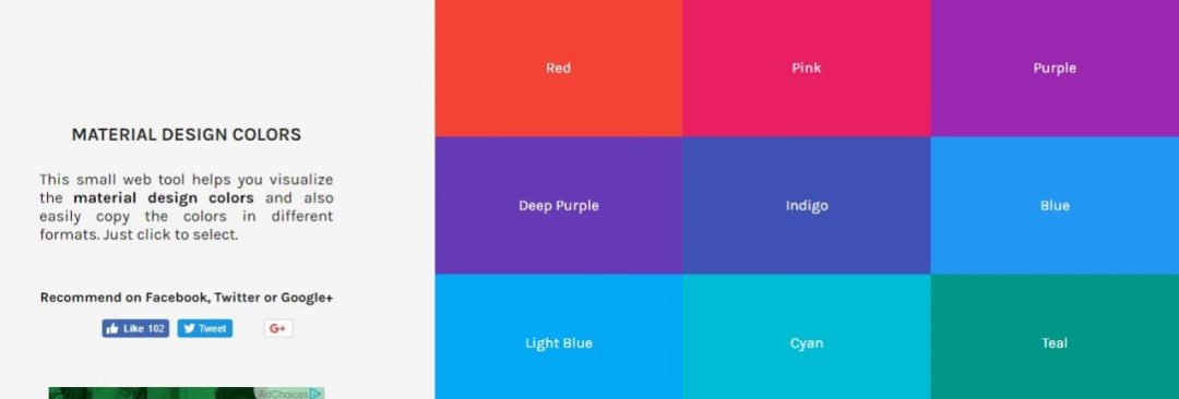 Designskilz - Material Design Colors