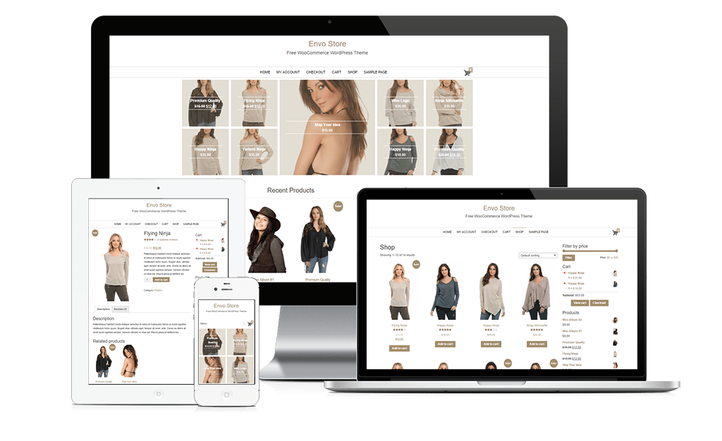 Envo Store - Free WooCommerce WordPress Theme