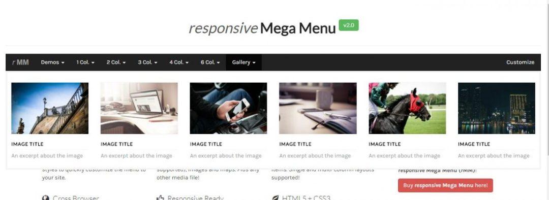Responsive Mega BootstrapMenu
