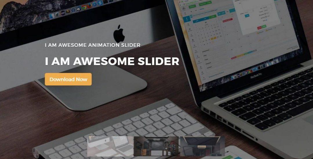 Responsive thumbnail slider