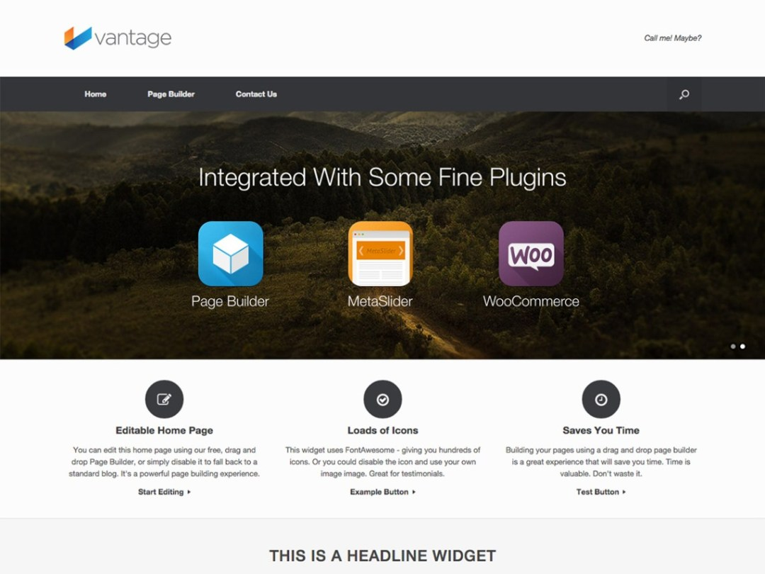 Vantage Multipurpose Theme