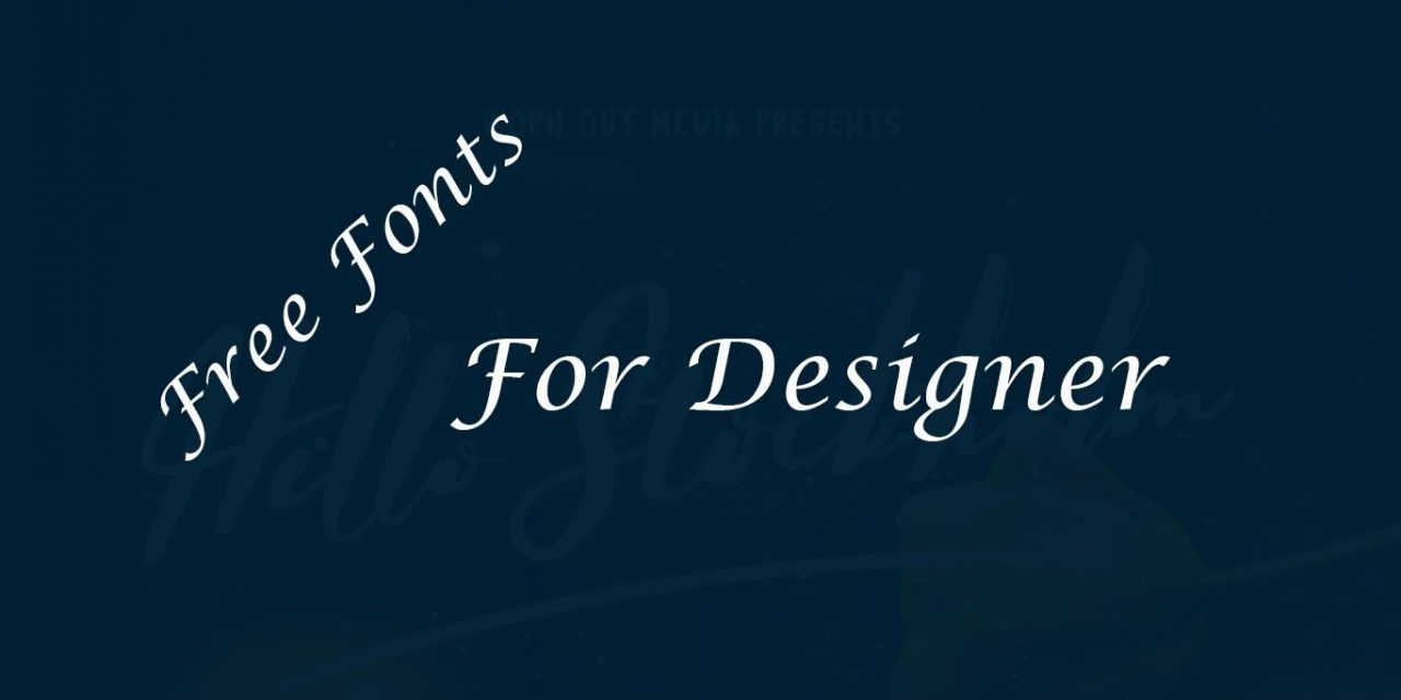Best Fonts 2020.Free Best Fonts For Designers 2020 Onaircode