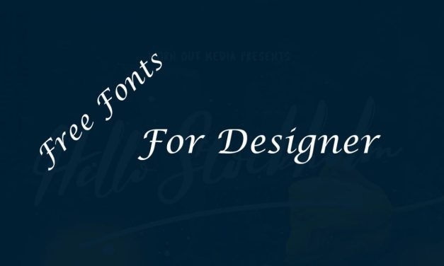 Free Best Fonts For Designers 2019