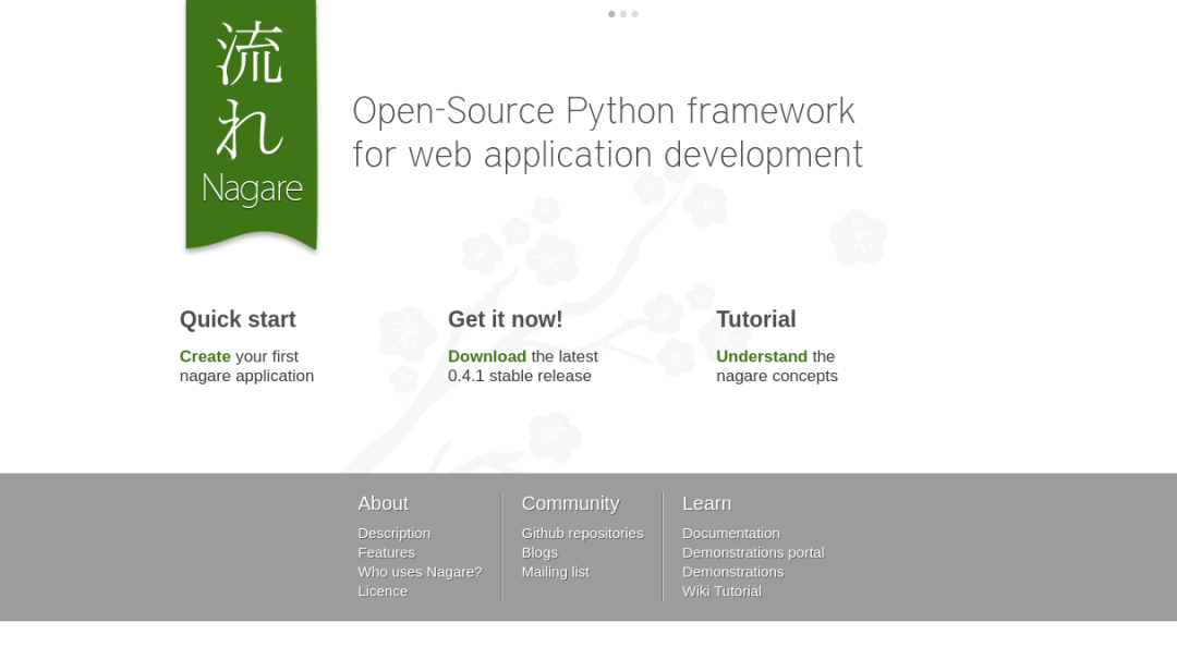Nagare Python Framework