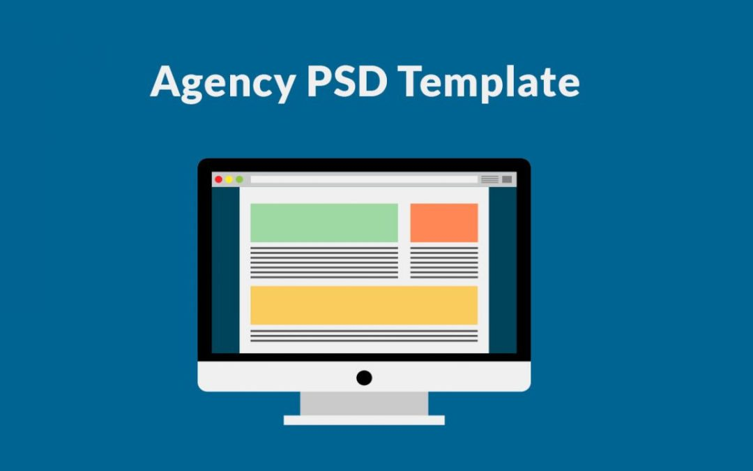 Best Free Agency Web Template PSD