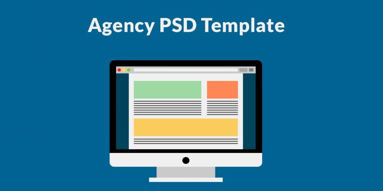 20 Best Free Agency Web Template PSD