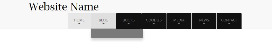 Bootstrap Dropdown Menu – Extended