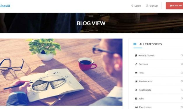 12 Best Free Bootstrap Blog Templates For 2019