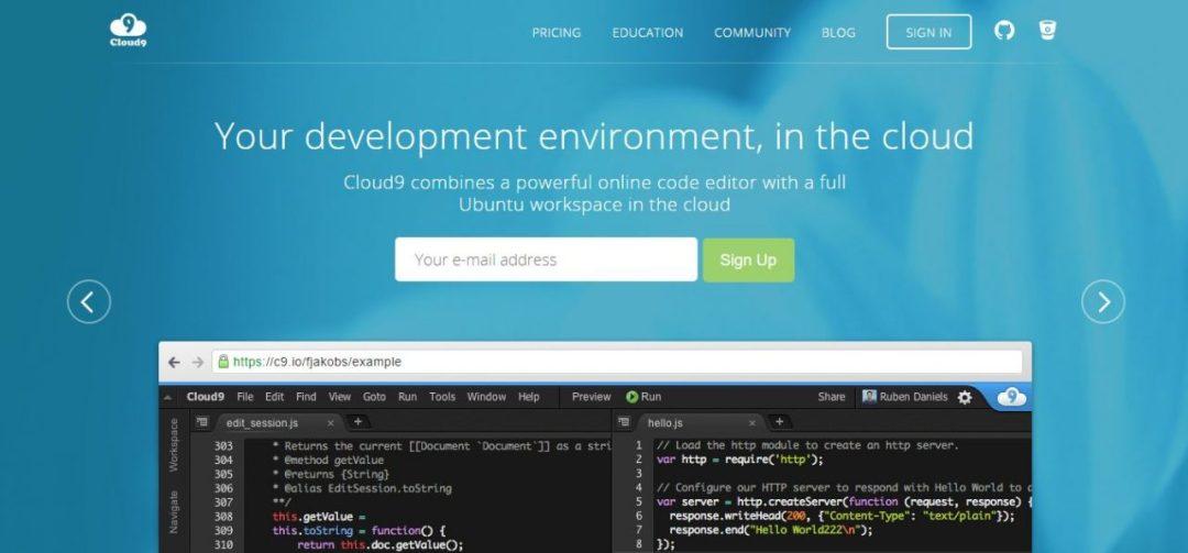 Cloud9 IDE - Development Environment